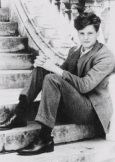 a young Colin Firth - some things do get even better with age...