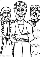 matthew 8 coloring pages - photo#28
