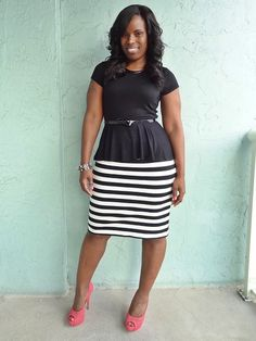 Business Casual for Curvy Women to Look More Professional : Business Casual for Curvy Women images