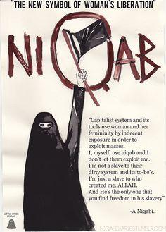 Niqab is Women's Liberation
