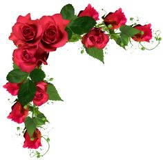 Beautiful Decor With Roses PNG Clipart Picture