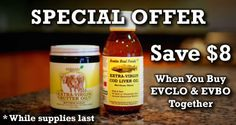EVBO and EVCLO SPECIAL OFFER.  This is the cod liver oil i need to buy.