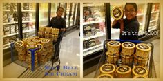 My Nephew was having a Blue Bell Moment!!!