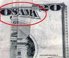 Twin Towers Then and Now   It gets even better 9 + 11 = $20! It figures our own money would spell the devils name.