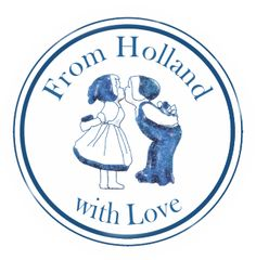 From Holland with Love | Sticker #postcrossing #holland