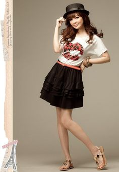 Women's Casual Fashion Trend Dress Korean Pictures