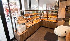 「BC-bakery」(ビーシー・ベーカリー)店内おもちゃメーカーバンダイのキャラクターとコラボレーションしたベーカリー「BC-bakery」(ビーシー・ベーカリー)