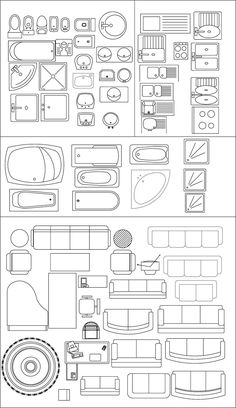 IDEARK_CALI Software applied to design, engineering and architecture: Symbology . IDEARK_CALI Software applied to design, engineering and architecture: Symbology . Architecture Symbols, Interior Architecture Drawing, Architecture Concept Drawings, Interior Design Sketches, Architecture Plan, Architecture Diagrams, Australian Architecture, Architecture Visualization, Autocad