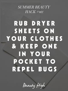 #BeautyHacks for Summer That Every Girl Needs to Know | Beauty High #repelbugs camping tips, keep bugs away
