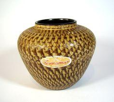 "Dümler & Breiden ""Terramar"" Vase post BAUHAUS German Pottery 1950s mid-century  | eBay"