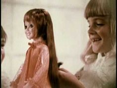 Beautiful Crissy Growing Hair Doll by Ideal commercial. Not sure why the little boy is there?????