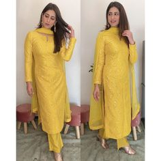 Party Wear Indian Dresses, Dress Indian Style, Indian Fashion Dresses, Indian Designer Outfits, Indian Outfits, Salwar Suits Party Wear, Mehendi Outfits, Indian Attire, Indian Wear