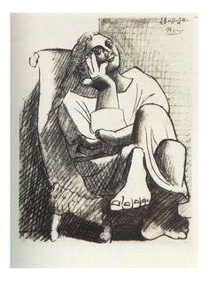 Pablo Picasso Drawings, Picasso Sketches, Art Picasso, Picasso Paintings, Picasso Prints, Picasso Images, Henri Matisse, Henri Rousseau, Georges Braque