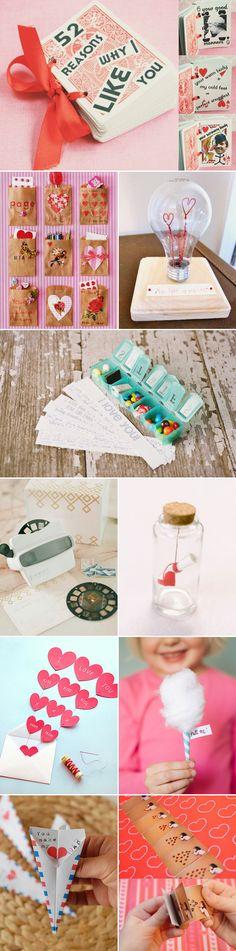 "30 Creative Ways to say ""I Love You"" – DIY Handmade Valentine's Day Ideas! DIY Gifts!"