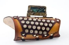 "Captain"" Typewriter Key Arm Guard  http://www.bruteforceleather.com/store/scripts/prodView.asp?idproduct=202"