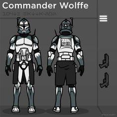 HACKS Boss Fight Studios WOLFPACK GREY Character Builder Kit