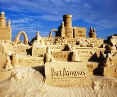 Sandfest, Port Aransas, Texas - USA