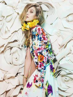 Floral Fashion Editorial