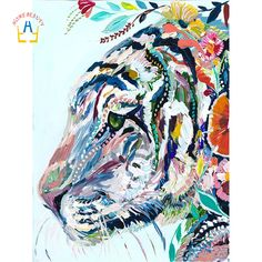 Home Beauty Diy Diamond Embroidery Animal Pictures With Rhinestone Complete 5D Diamond Mosaic Cross Stitch Kits Home Decor SK507 #Affiliate