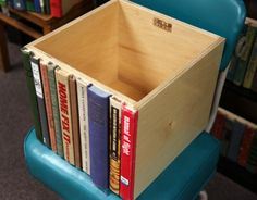 LOVE this idea!  Of course, only if the books were already ruined.  I would hate to ruin perfectly good books!