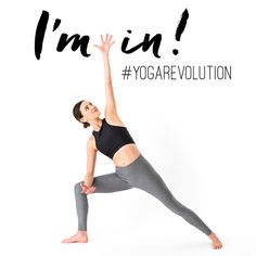 I just joined the #yogarevolution. Join me for 31 days of free yoga starting January 1st.