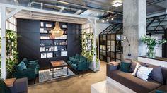Dit is wat er gebeurt als interieurontwerpers hun eigen kantoor designen