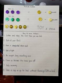 discipline ideas for young kids Ooo I like this what kid doesn't like rewards