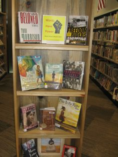 Black History Month 2015 Book Display at the Nederland Community Library
