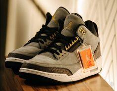 "Marcus Jordan Reveals 1-of-1 Air Jordan 3 ""Trophy Room"" http://SneakersCartel.com #sneakers #shoes #kicks #jordan #lebron #nba #nike #adidas #reebok #airjordan #sneakerhead #fashion #sneakerscartel"