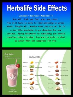 Hoping for these side affects!!! Ordered my herbalife yesterday!