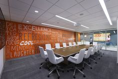 Fenix Chairs from Davis Furniture in the Kareo offices - designed by LPA