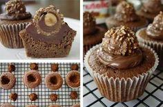 Nutella.  Forrero rocher cupcakes