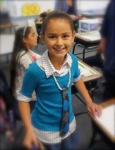 Tie Necklace Tutorial for little girls Must try! @ecrafty #ecrafty #diynecklaces #jewelrysupplies #neckcords