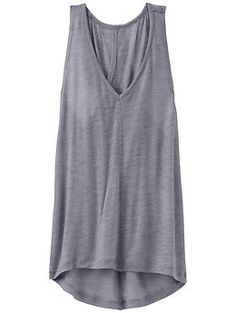 Moonbeam Tank - Post-practice layering gone luxe in a super-lightweight, drapey top made from a sheer wool blend.