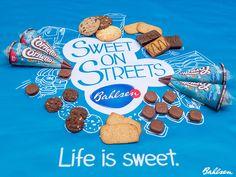 Die #Bahlsen #SweetOnStreets Tour unterwegs in 7 Städten Deutschlands. #LifeIsSweet