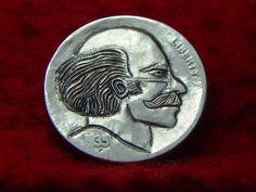 1935 P Hobo Nickel Bald Man 500 | eBay