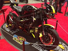 Custom Speed Triple Progressive Motorcycle Show, NYC