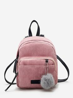 Small Mini Backpack Women Fur Ball Winter Velvet School Shoulder Bag School Bags For Teenager Girls Casual Women Backpacks Small Backpacks For Girls, Cute Mini Backpacks, Vintage Backpacks, Girl Backpacks, Leather Backpacks, Canvas Backpacks, Bag Women, Bags Travel, Travel Shoes