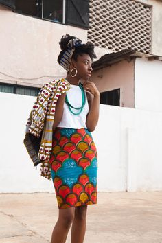 Ankara Gowns & High Street Ankara Fashion These Ankara styles accept got some different ap African Inspired Fashion, African Print Fashion, Africa Fashion, Fashion Prints, African Prints, Ankara Fashion, Ghana Fashion Dresses, African Patterns, Nigerian Fashion