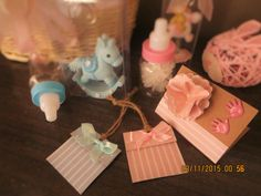 Hand made baby cards & tags