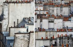 Abstract Parisian Rooftops Photographed by Michael Wolf   Colossal