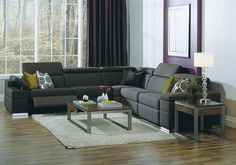 Bend Furniture & Design offers quality made Northwest Modern furniture Living Room Redo, Living Room Furniture, Reclining Sectional, Recliner, Contemporary Furniture, Contemporary Design, Fabric Sectional, Sustainable Furniture, Furniture Design