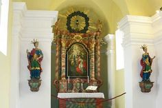 Im Inneren der Barbarakapelle