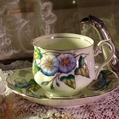 Vintage Royal Albert Tea Cup & Saucer ♥ by FlatteringDelicacy...I have this one. :)