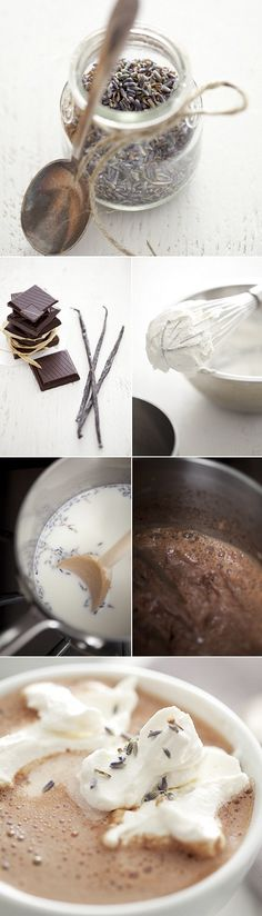 exPress-o: Jolly Goodness: Lavender Hot Chocolate