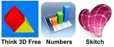 3 iPad apps for volume and surface area investigations