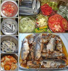 Esta receita portuguesa de Sardinhas de Escabeche na Panela de Pressão é deliciosa, talvez por não se sentir as espinhas, ou pela pimenta, ou os...