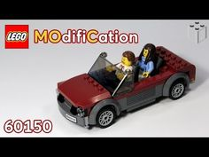 Lego City 60150 Cabriolet - MOdyfikaCja MOC - YouTube