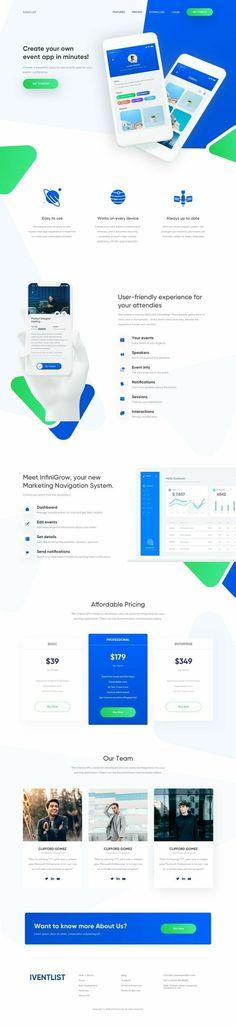 png by Piko Rizky Dwinanto ✪ Design Web, Web Design Quotes, Website Design, Graphic Design Trends, Website Layout, Flat Design, Best Landing Page Design, App Landing Page, Landing Page Inspiration