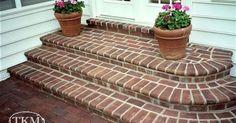 1000+ ideas about Brick Steps on Pinterest | Front Porch Steps ...